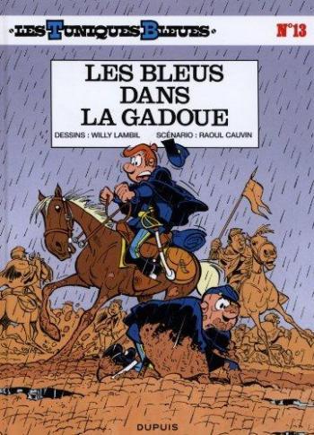 Couverture de l'album Les Tuniques bleues - 13. Les bleus dans la gadoue