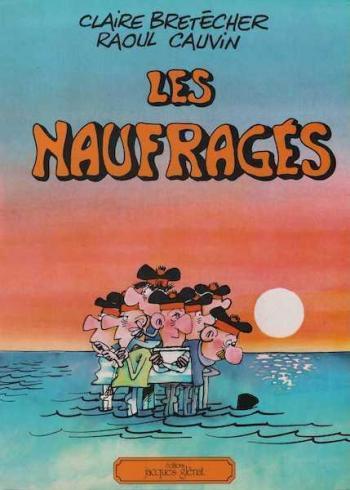 Couverture de l'album Les Naufragés (One-shot)