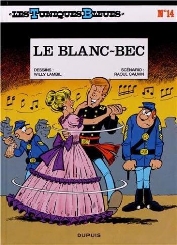 Couverture de l'album Les Tuniques bleues - 14. Le blanc bec