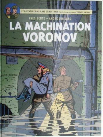 Couverture de l'album Blake et Mortimer (Blake et Mortimer) - 14. La Machination Voronov