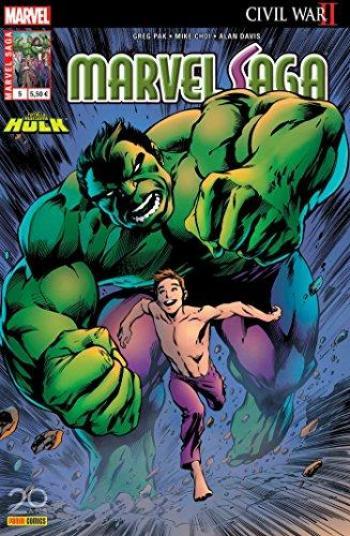 Couverture de l'album Marvel Saga (V3) - 5. Le Hulk du miroir