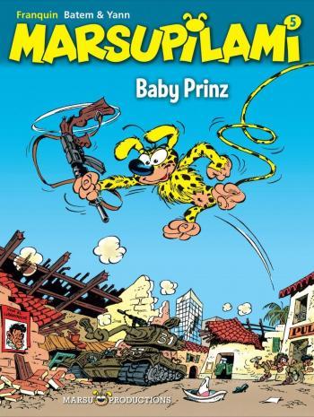 Couverture de l'album Marsupilami - 5. Baby Prinz