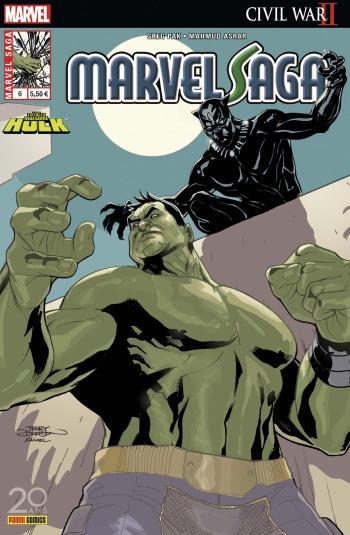 Couverture de l'album Marvel Saga (V3) - 6. Hulk : Civil War II