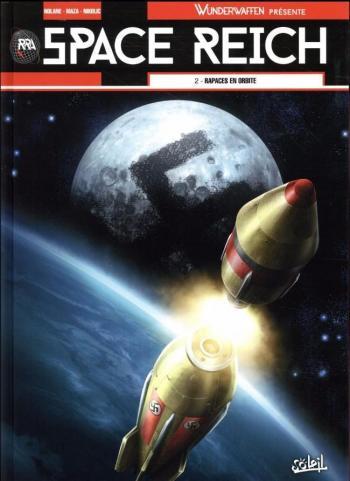 Couverture de l'album Space Reich - 2. Rapaces en orbite