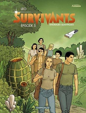 Couverture de l'album Les Mondes d'Aldébaran IV - Survivants - 5. Épisode 5