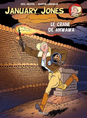 Couverture de l'album Jennifer Jones / January Jones - 2. Le Crâne de Mkwawa