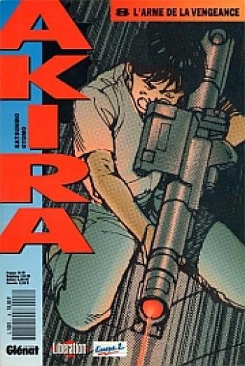 Couverture de l'album Akira (Kiosque) - 8. L'arme de la vengeance