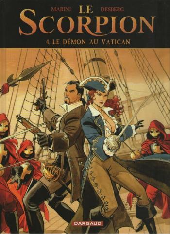 Couverture de l'album Le Scorpion - 4. Le Démon au Vatican