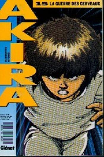 Couverture de l'album Akira (Kiosque) - 15. La guerre des cerveaux