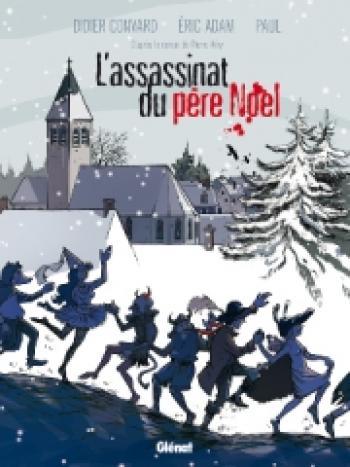 Couverture de l'album L'assassinat du père Noël (One-shot)