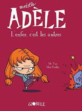 Couverture de l'album Mortelle Adèle - 2. L'enfer c'est les autres