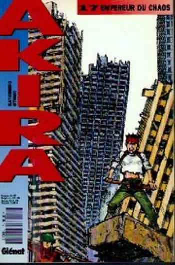 Couverture de l'album Akira (Kiosque) - 17. Empereur du chaos