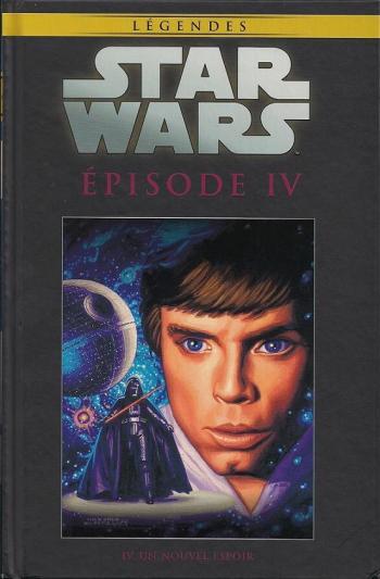 Couverture de l'album Star Wars (Collection Hachette) - 53. Episode IV - Un nouvel espoir
