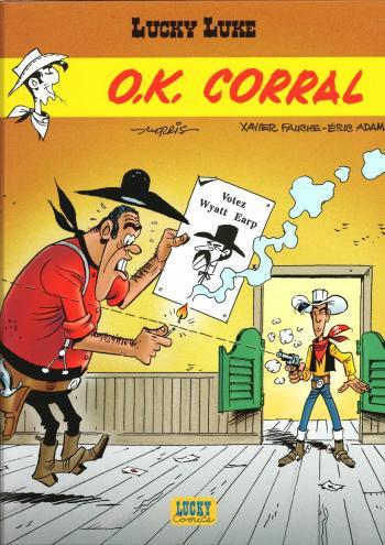 Couverture de l'album Lucky Luke - 67. O.K Corral