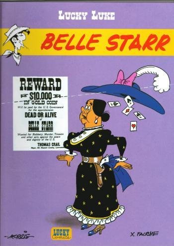 Couverture de l'album Lucky Luke - 65. Belle Starr