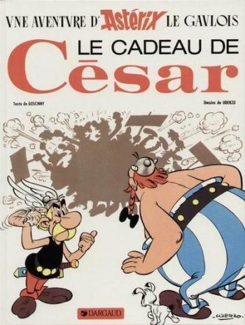 Couverture de l'album Astérix - 21. Le Cadeau de César