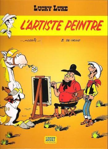 Couverture de l'album Lucky Luke - 71. L'Artiste peintre
