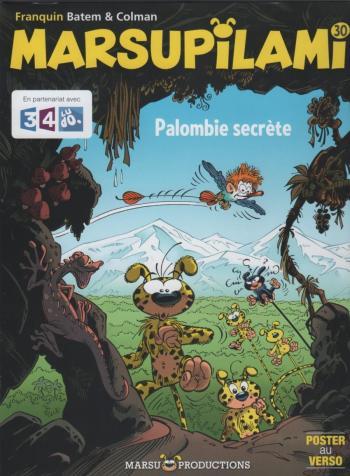 Couverture de l'album Marsupilami - 30. Palombie secrète