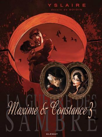 Couverture de l'album La Guerre des Sambre - Maxime et Constance - 3. Le Regard de la veuve