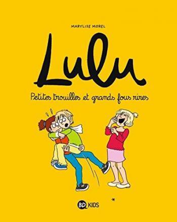 Couverture de l'album Lulu - 5. Petites trouilles et grands fous rires