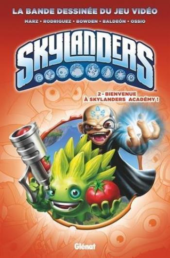 Couverture de l'album Skylanders - 2. Bienvenue à Skylanders Academy !
