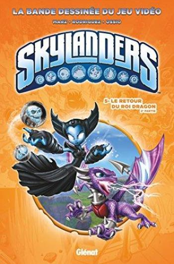 Couverture de l'album Skylanders - 5. Le Retour du roi Dragon (2e partie)