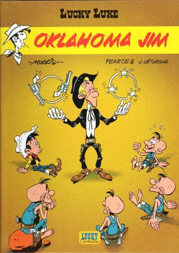 Couverture de l'album Lucky Luke - 68. Oklahoma Jim