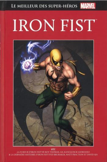 Couverture de l'album Marvel - Le meilleur des super-héros - 28. Iron Fist