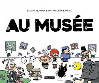 Couverture de l'album Au musée (One-shot)