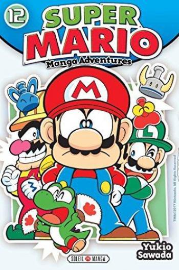 Couverture de l'album Super Mario - Manga Adventures - 12. Tome 12
