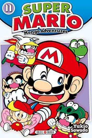 Couverture de l'album Super Mario - Manga Adventures - 11. Manga Adventures - Tome 11