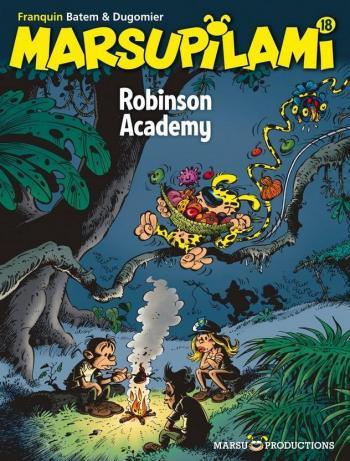 Couverture de l'album Marsupilami - 18. Robinson Academy