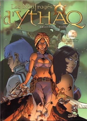 Couverture de l'album Les Naufragés d'Ythaq - 8. Le miroir des mensonges
