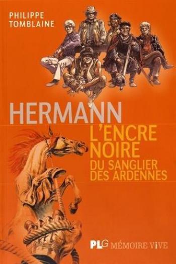 Couverture de l'album Hermann - L'Encre noire du sanglier des Ardennes (One-shot)