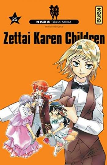 Couverture de l'album Zettai Karen Children - 25. Tome 25
