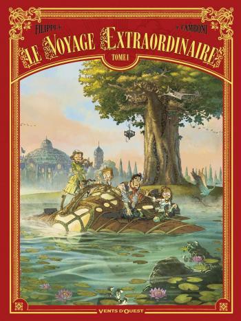 Couverture de l'album Le Voyage extraordinaire - 1. Le Trophée Jules Verne I