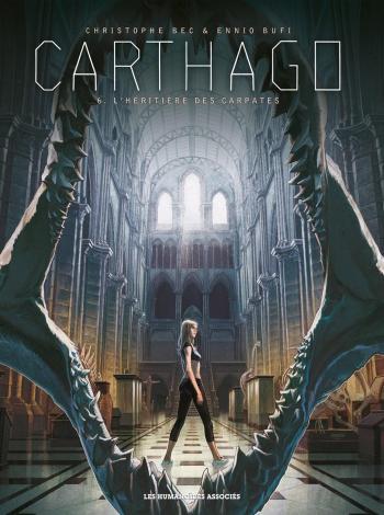 Couverture de l'album Carthago - 6. L'Héritière des Carpates