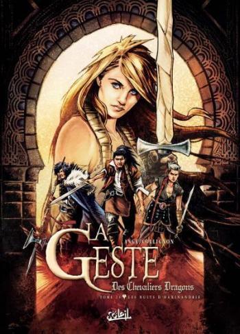 Couverture de l'album La Geste des Chevaliers Dragons - 24. Les Nuits d'Haxinandrie