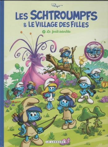 Couverture de l'album Les Schtroumpfs & le village des filles - 1. La Forêt interdite