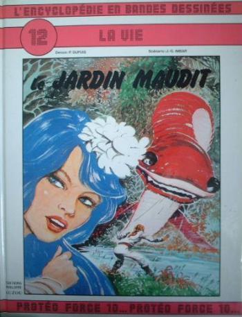Couverture de l'album L'Encyclopédie en bandes dessinées - 12. Le Jardin maudit