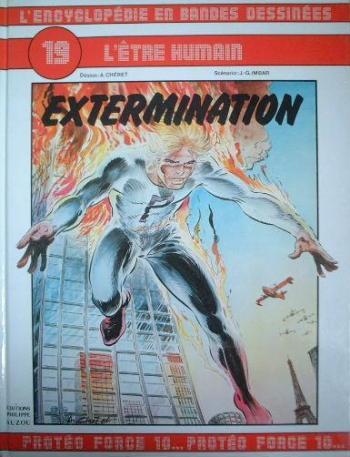 Couverture de l'album L'Encyclopédie en bandes dessinées - 19. Extermination