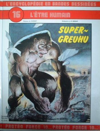 Couverture de l'album L'Encyclopédie en bandes dessinées - 16. Super-Greuhu