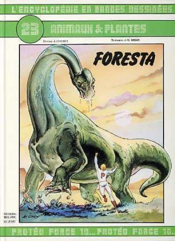 Couverture de l'album L'Encyclopédie en bandes dessinées - 23. Foresta