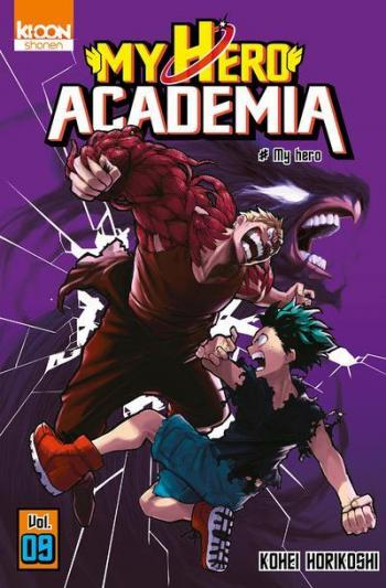Couverture de l'album My Hero Academia - 9. My hero