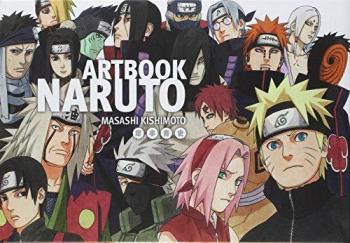 Couverture de l'album Naruto - HS. Naruto - Coffret ArtBook