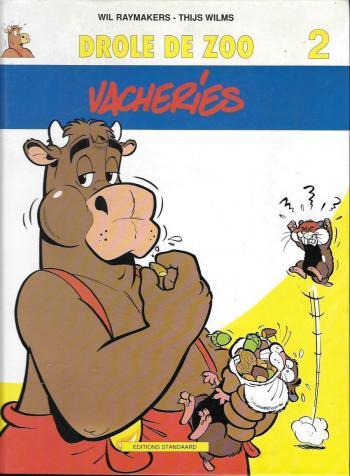 Couverture de l'album Drôle de Zoo - 2. Vacheries