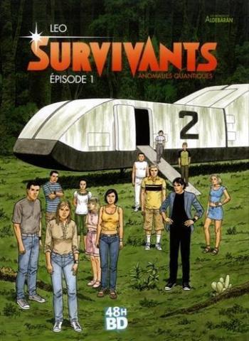 Couverture de l'album Les Mondes d'Aldébaran IV - Survivants - 1. Épisode 1