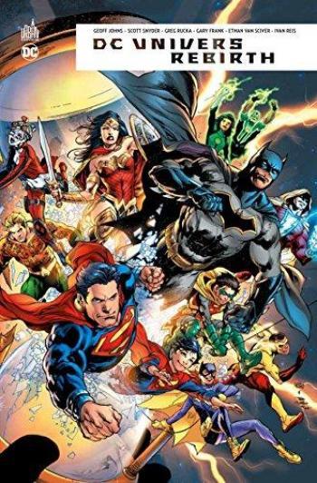 Couverture de l'album DC Univers Rebirth (One-shot)