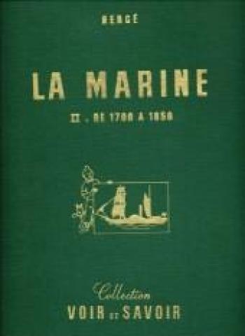 Couverture de l'album Tintin Raconte - 5. La Marine II - De 1700 à 1850