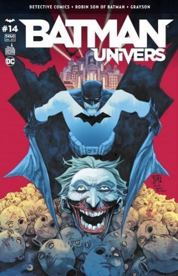 Couverture de l'album Batman Univers - 14. James Gordon peut-il se fier à son passé ?